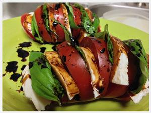 Beefsteak-Tomato-with-Mozzarella-Fresh-Basil