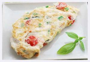 Eggwhite-Omelet-with-Veggies