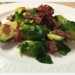 Sautéed-Brussel-Sprouts-with-Turkey-Bacon